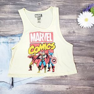 Marvel Comics Avengers Crop Tank